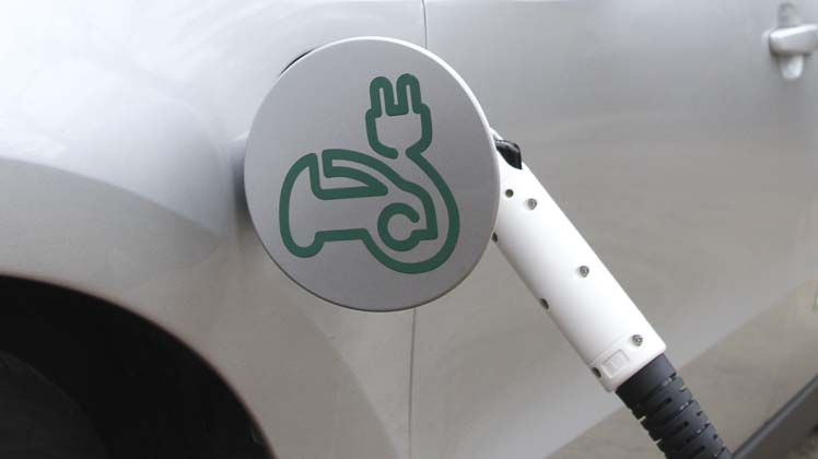 Photo of car charging